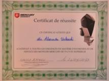 Certification Mercury