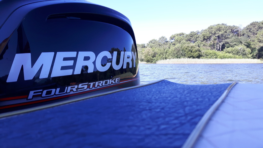 Mercury F115 CT - Lac de Cazaux