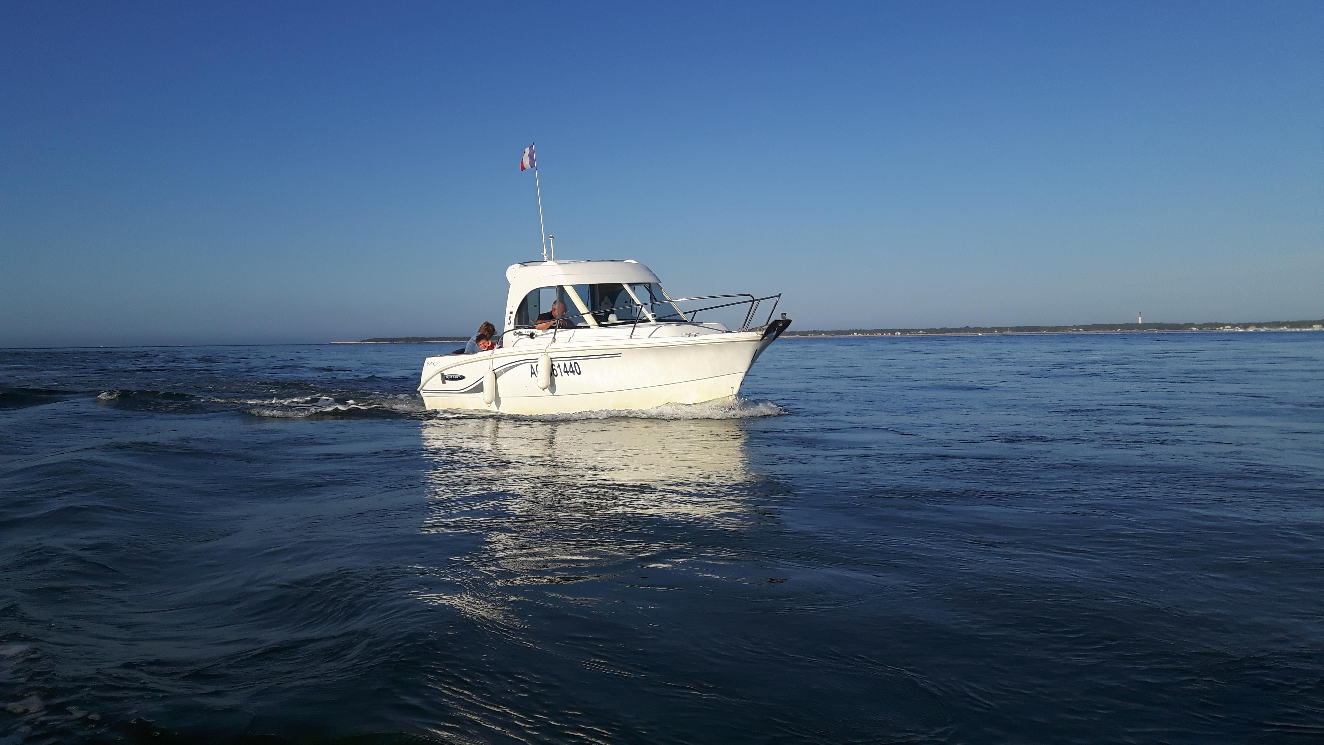 Navigation sur le bassin d'Arcachon